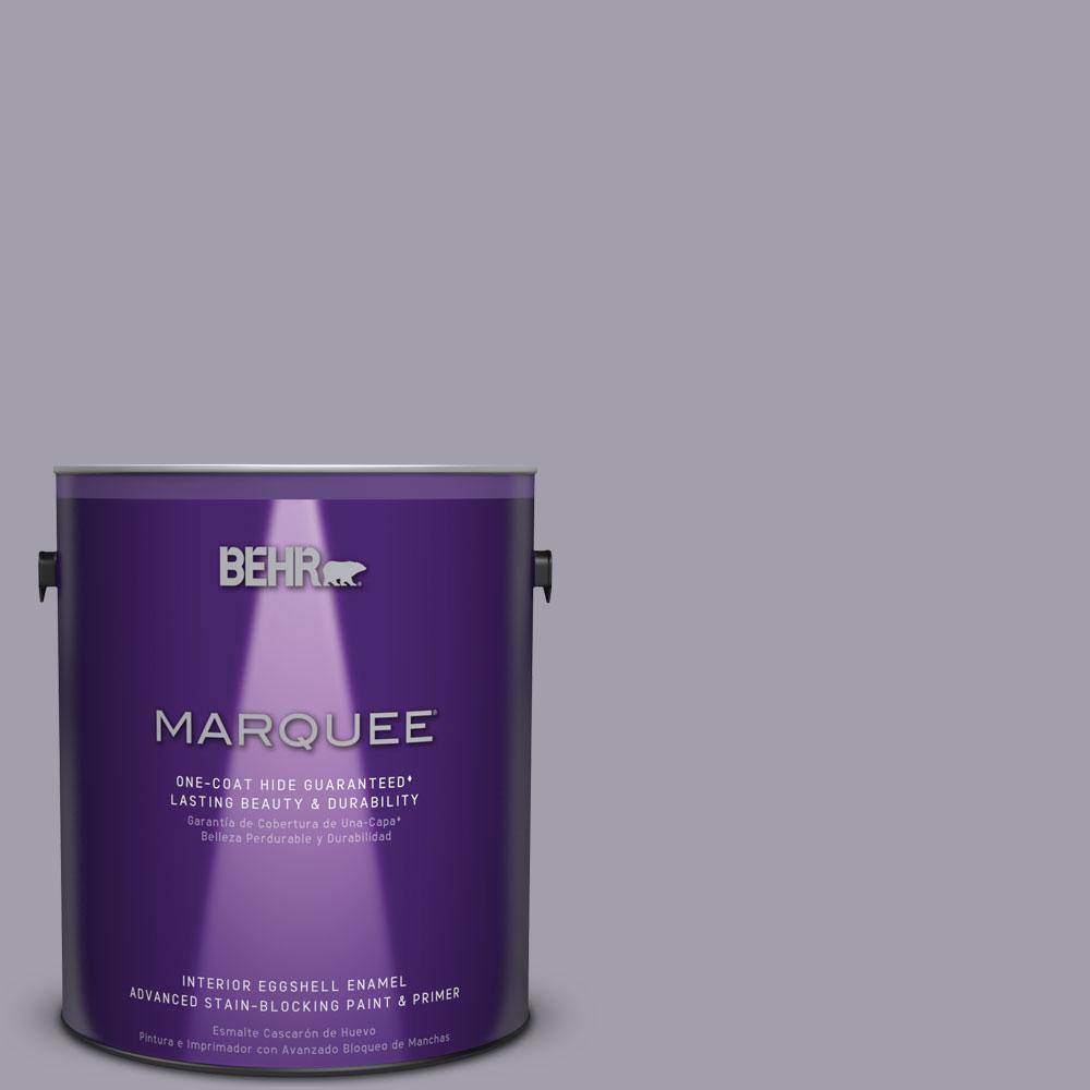 1 gal. #N550-4 Ashberry One-Coat Hide Eggshell Enamel Interior Paint