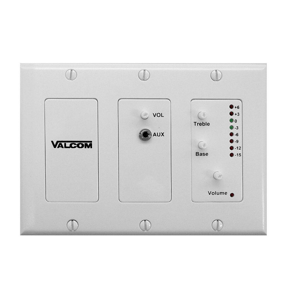 valcom in wall volume controllers vc v 9983 w 64_1000 in wall volume controllers home audio the home depot valcom talkback speaker wiring diagram at soozxer.org