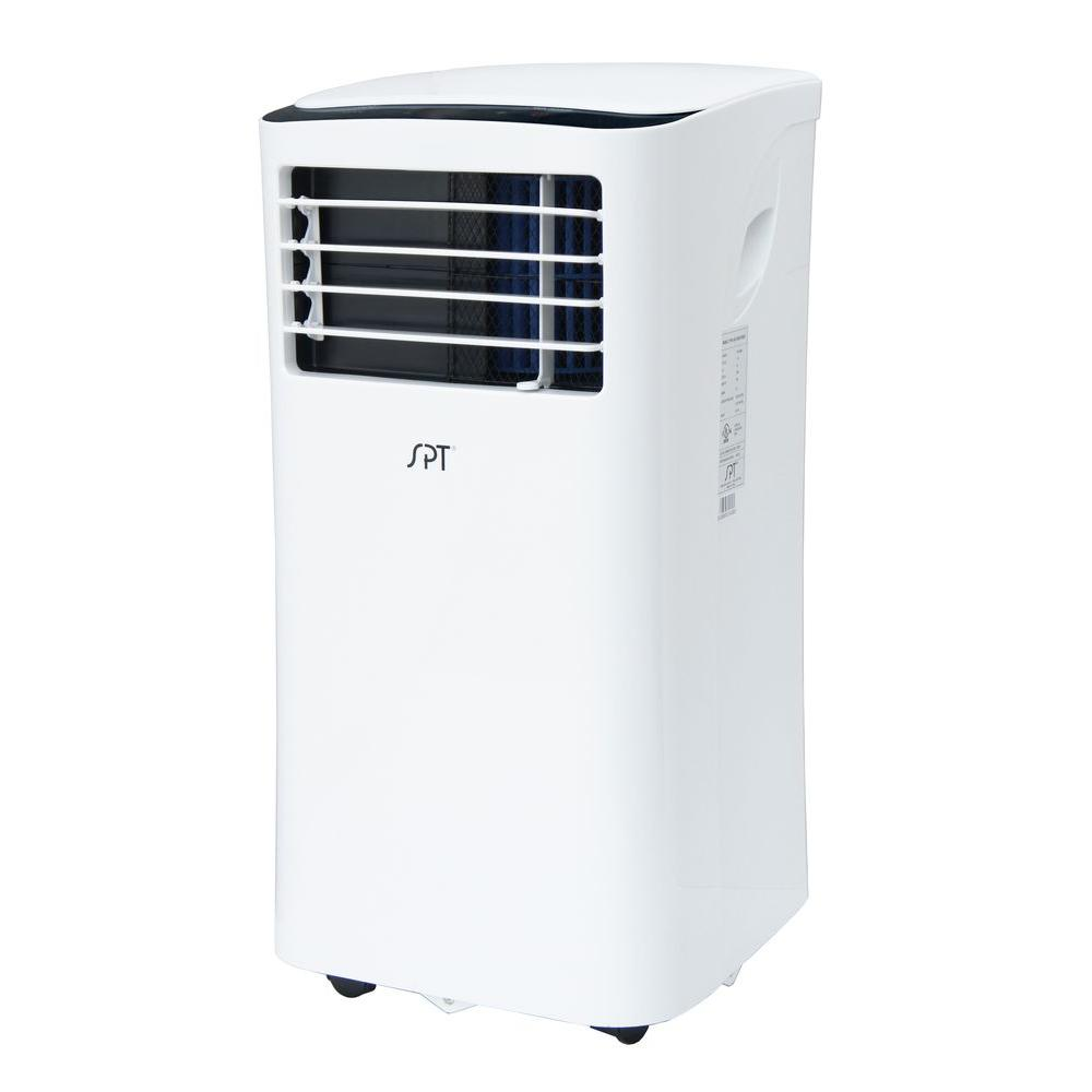 spt 209 cfm 8 000 btu 3 speed portable air conditioner for 250 sq ft with dehumidifier wa. Black Bedroom Furniture Sets. Home Design Ideas