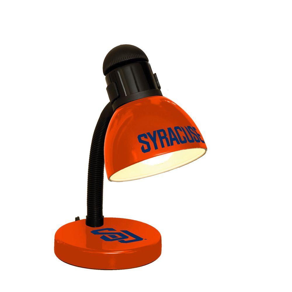 The Memory Company 14.7 in. NCAA Desk Lamp - Syracuse Orange-DISCONTINUED