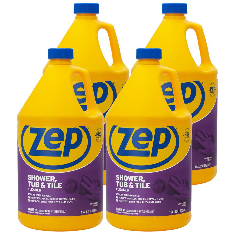 ZEP 1 Gal. Shower Tub and Tile Cleaner (Case of 4)