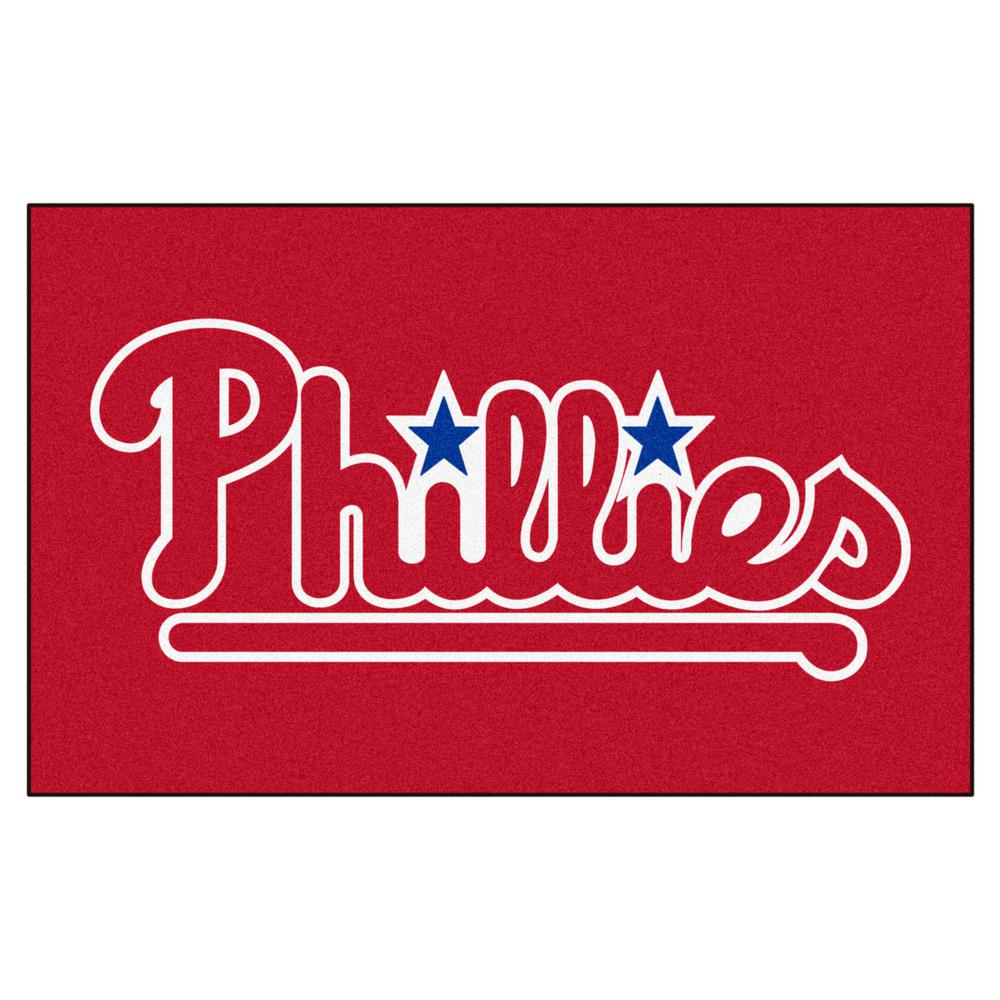 FANMATS Philadelphia Phillies 5 ft. x 8 ft. Ulti-Mat