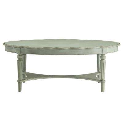 Fordon Coffee Table in Antique Green