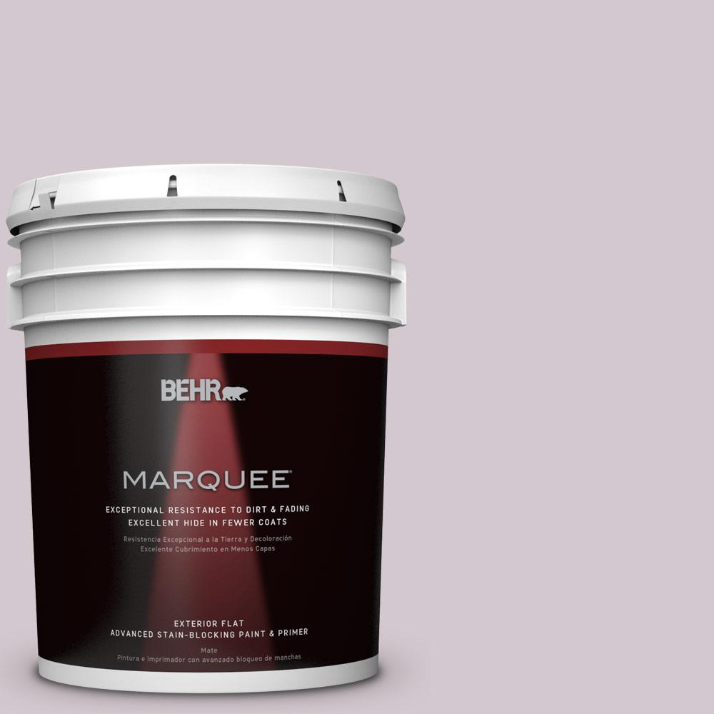 5-gal. #N110-1 Dusty Lilac Flat Exterior Paint