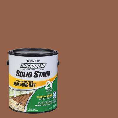 1 gal. California Rustic Exterior 2X Solid Stain