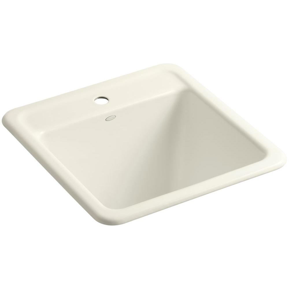 Exceptional KOHLER Park Falls 22 In. X 21 In. Cast Iron Drop In/