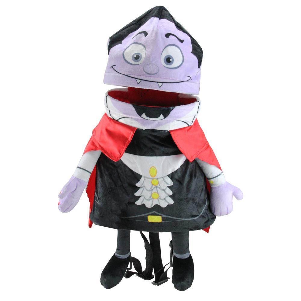 21 in. Musical Animated Vampire Children's Halloween Trick or Treat Bag