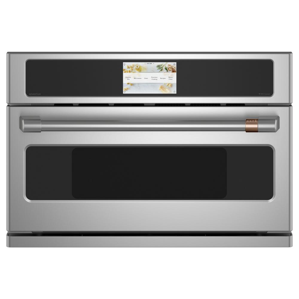 Cafe 1.7 cu. ft. Smart Built-In Convection Microwave in Stainless Steel