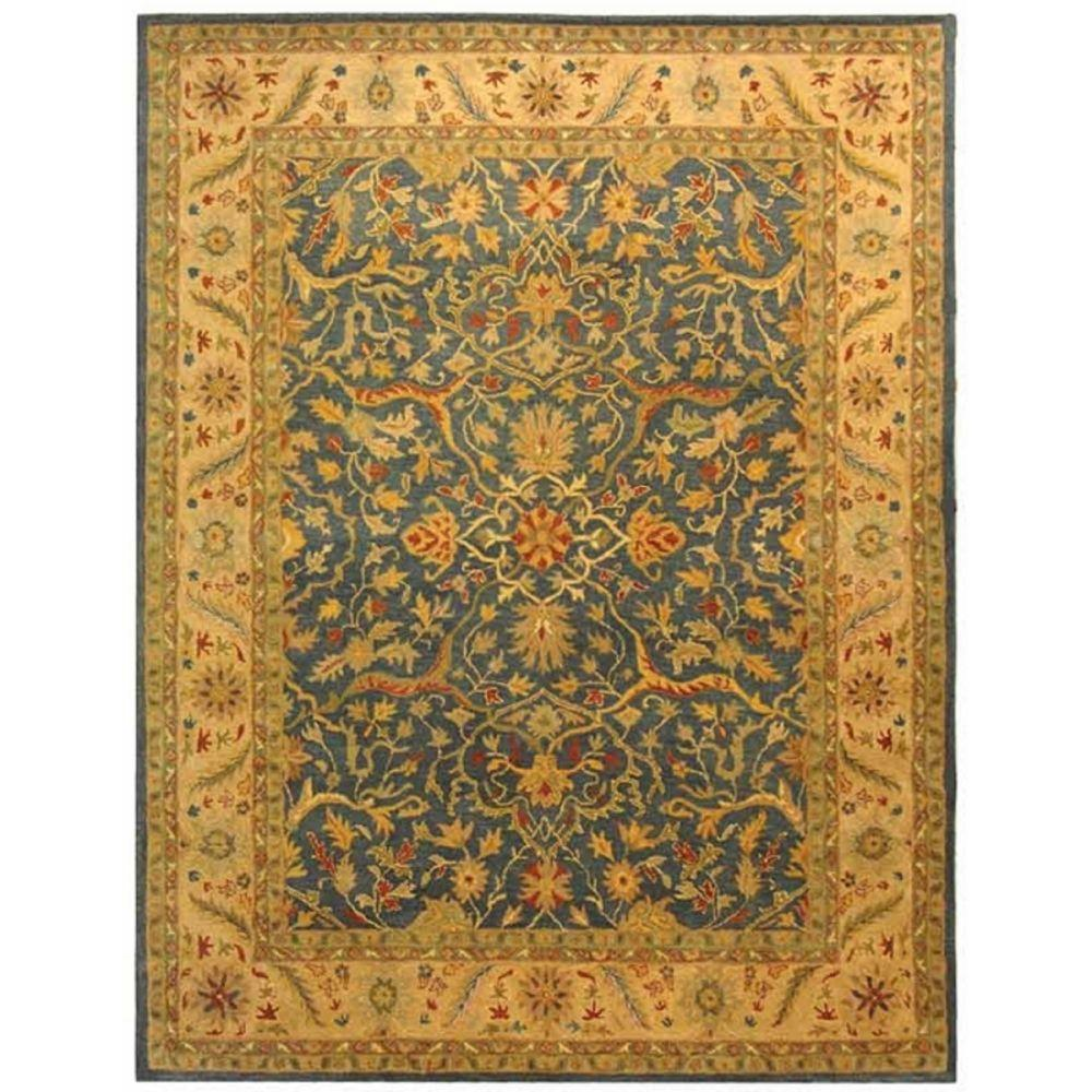 Safavieh Antiquity Blue 10 Ft X 14 Ft Area Rug At14e 10