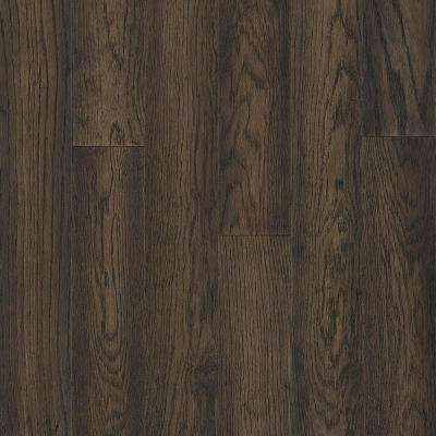 Take Home Sample - Hydropel Oak Dark Brown Engineered Hardwood Flooring - 5 in. x 7 in.
