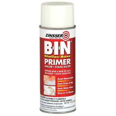B-I-N 13 oz. Shellac-Based White Interior/Spot Exterior Primer and Sealer Spray (6-Pack)