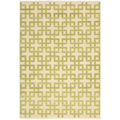 Maze Moss 7 ft. 9 in. x 10 ft. 10 in. Area Rug