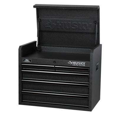 26 in. 5-Drawer Tool Chest, Textured Black