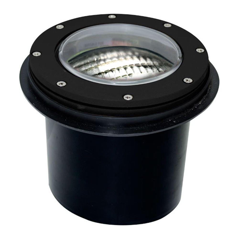 Brantley 1-Light Black Outdoor In-Ground Well Light