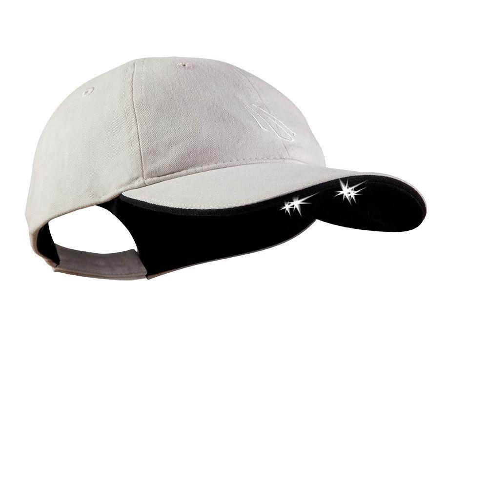 4 LED Lighted Hat, Stone