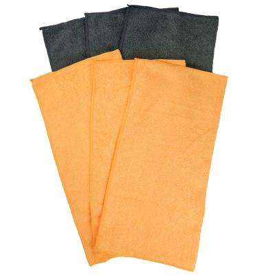 Microfiber Towels (6-Pack)