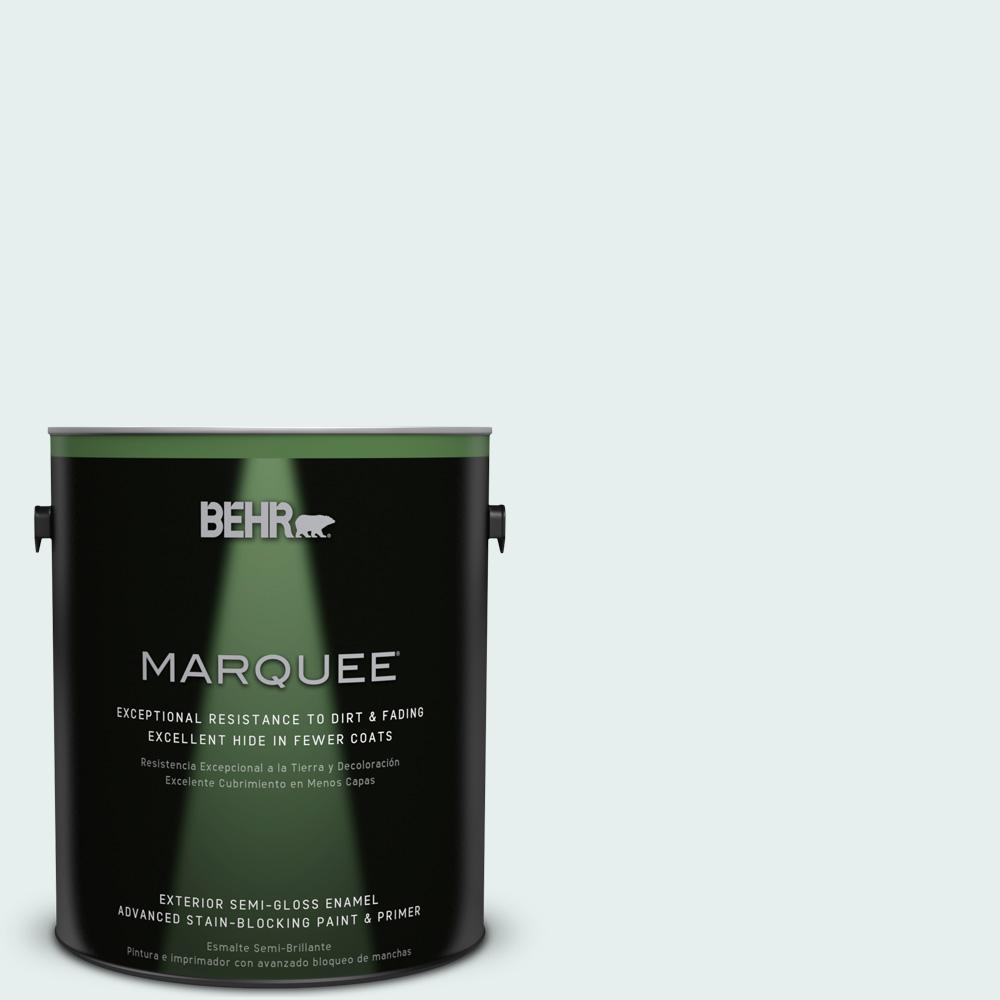 1-gal. #730E-2 Sparkling Spring Semi-Gloss Enamel Exterior Paint