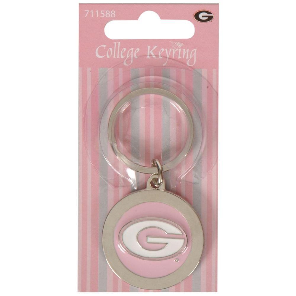 NCAA University of Georgia Key Chain (3-Pack)