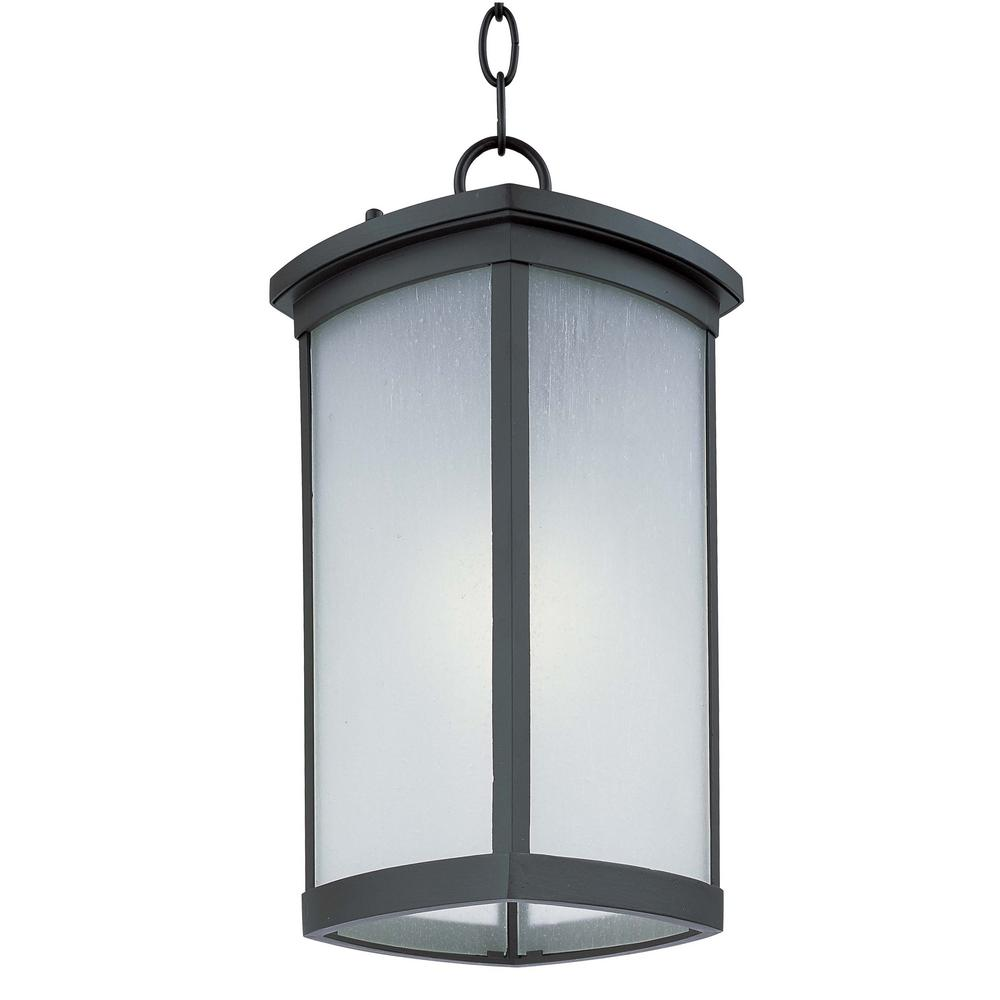 Maxim Lighting Terrace 8 In Wide Bronze 1 Light Outdoor Hanging Lantern