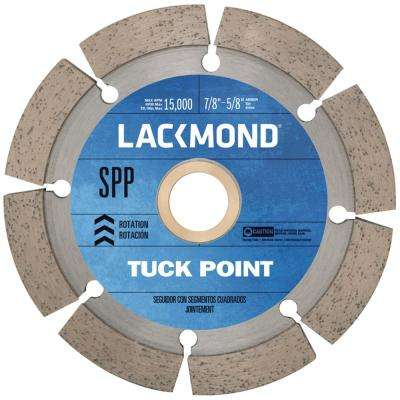 4.5 in. Tuck Pointing Wheel with 7/8-5/8 Arbor Bushing
