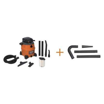 16 gal. 6.5-Peak HP Wet Dry Vac with Detachable Blower with Bonus Gutter Cleaning Kit