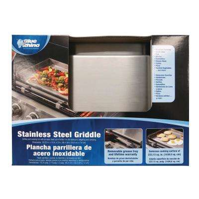 Stainless Steel Deluxe Griddle
