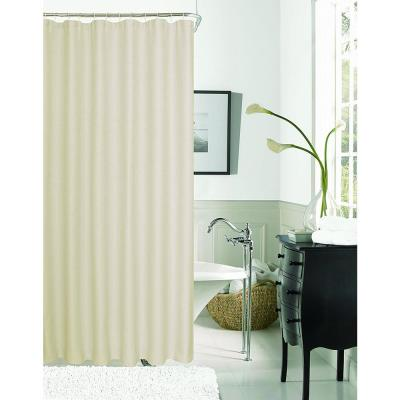Exclusive Spa 251 Hotel Collection 72 in. Hummus Waffle Shower Curtain