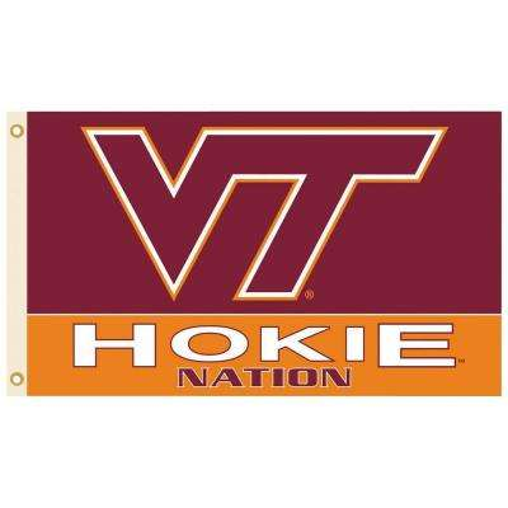 NCAA 3 ft. x 5 ft. Virginia Tech Flag