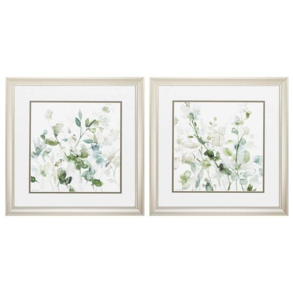 Homeroots Victoria Champagne Gold Color Gallery Frame Set Of 2 365280 The Home Depot