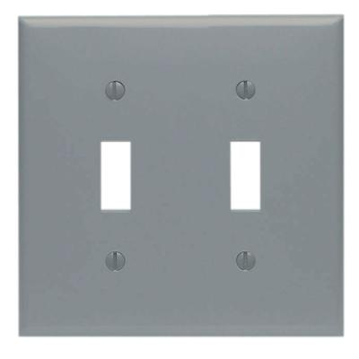 2-PK LEVITON IVORY JUMBO Surface Mount Triple Convenience Outlet 323-I NEW