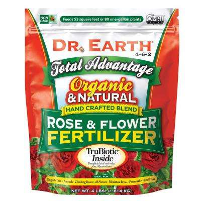 4 lbs. Organic Total Advantage Flower and Rose Food
