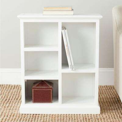 Maralah White Open Bookcase