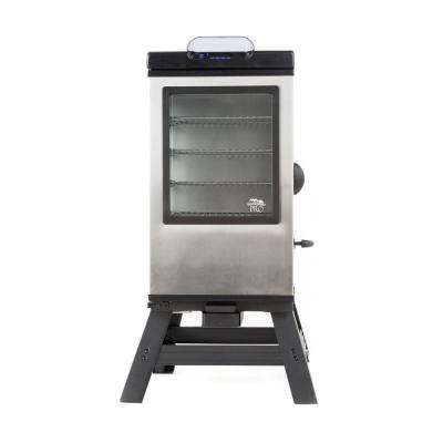 30 in. Bluetooth Smart Digital Electric Smoker with Legs