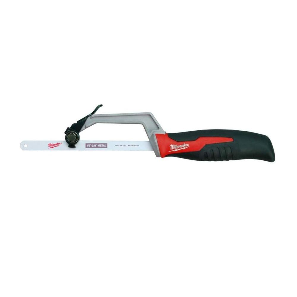Milwaukee 10 in compact hacksaw 48 22 0012 the home depot compact hacksaw greentooth Choice Image