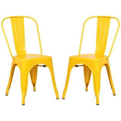 Trattoria Yellow Side Chair (Set of 2)