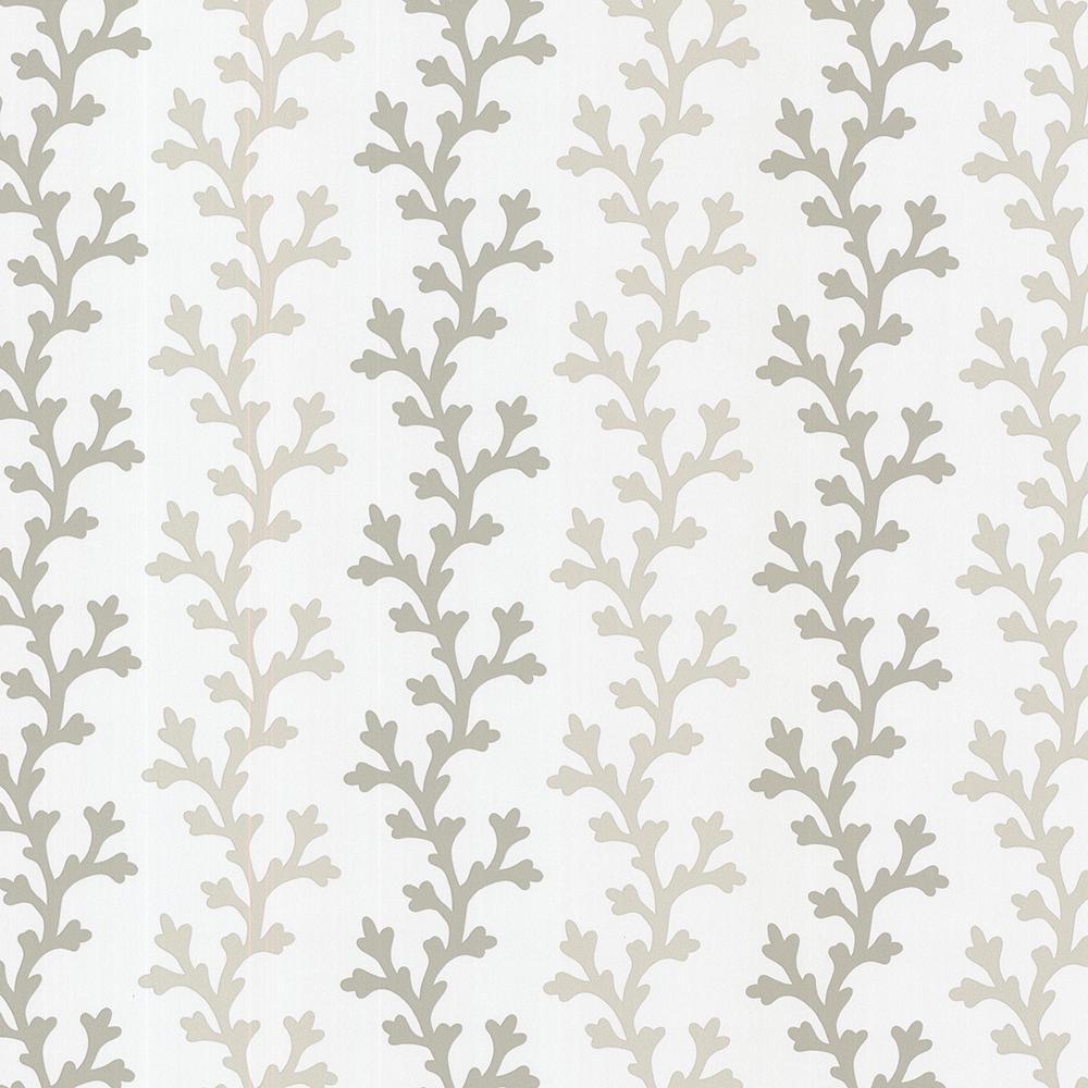 8 in. x 10 in. Georgina Sand Ombre Coral Wallpaper Sample