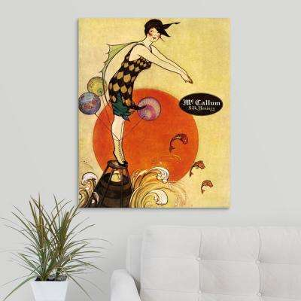 """""""McCallum Silk Hosiery"""" by Great BIG Canvas Canvas Wall Art"""