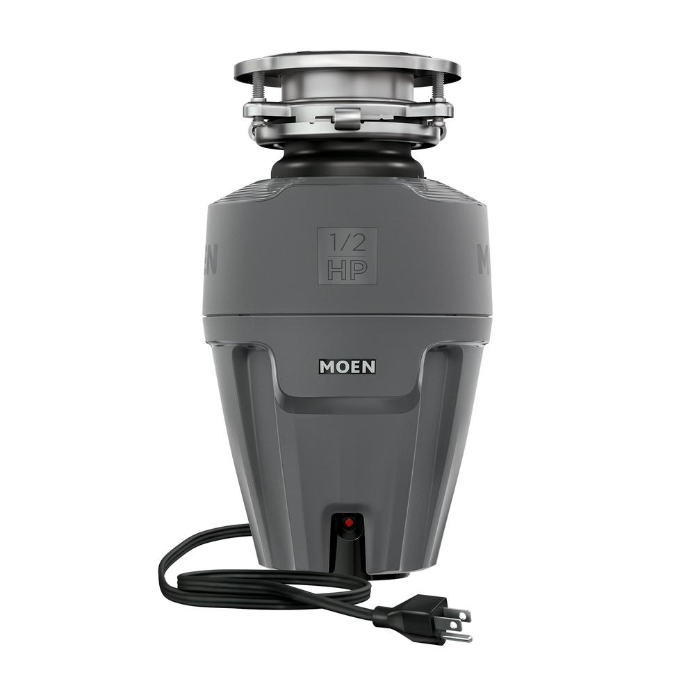 MOEN MOEN EX Series 1/2 HP Continuous Feed Garbage Disposal