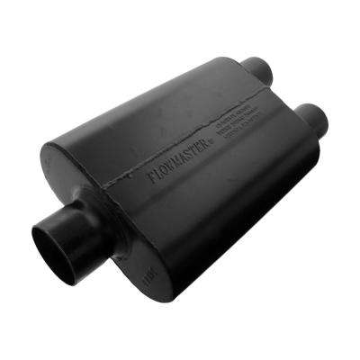 Universal Super 44 Muffler - 3.00 Center In / 2.50 Dual Out