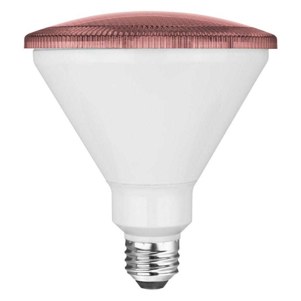 17W Equivalent PAR38 Non Dimmable LED Light Bulb - Pink