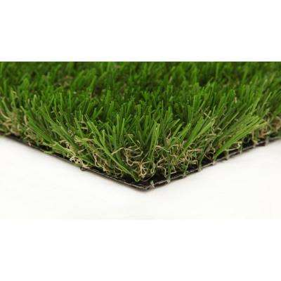 Classic 54 Spring 15 ft. x 25 ft. Artificial Synthetic Lawn Turf Grass Carpet for Outdoor Landscape