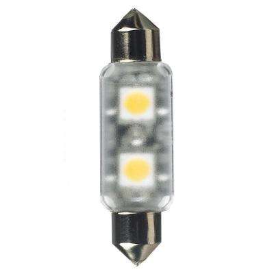 Ambiance 12-Volt LED Frosted Festoon Lamp (4000K)