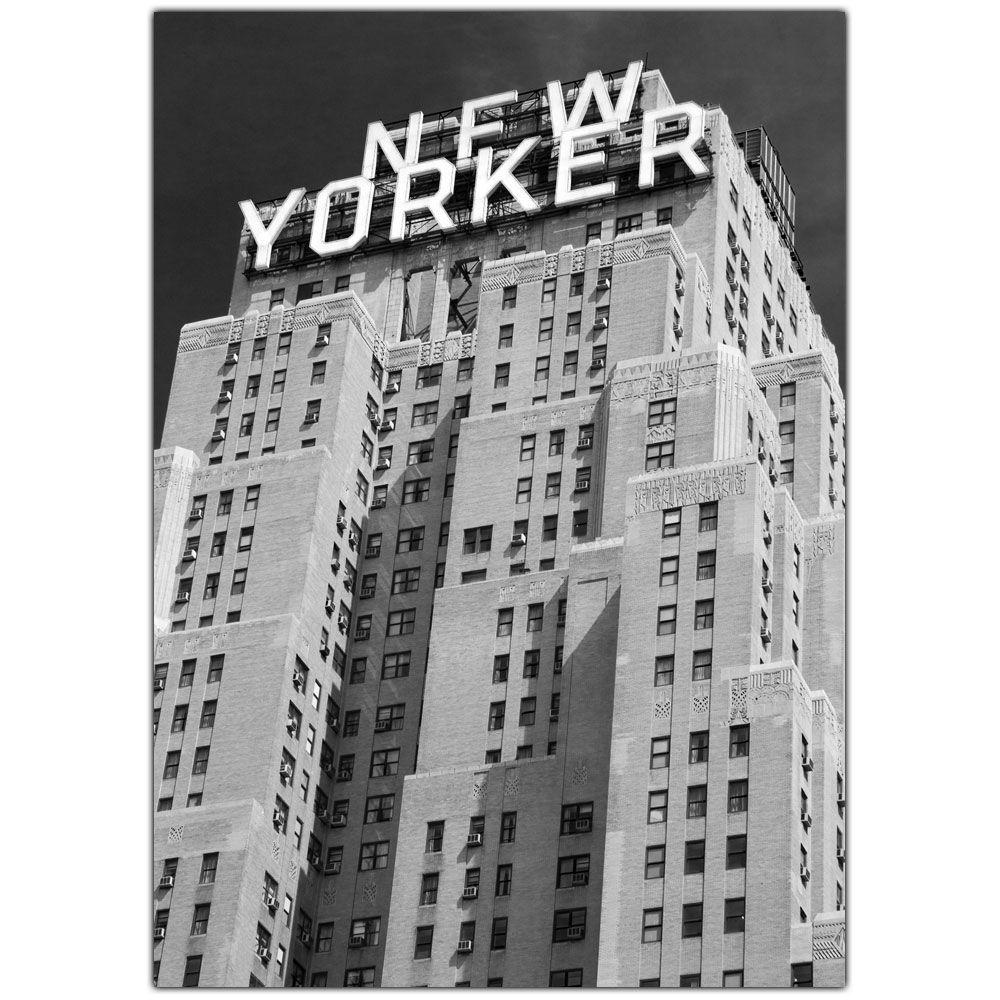 Trademark Fine Art 35 in. x 47 in. New Yorker Canvas Art