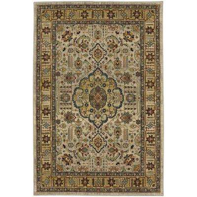 Adour Silver 5 ft. 3 in. x 7 ft. 8 in. Area Rug