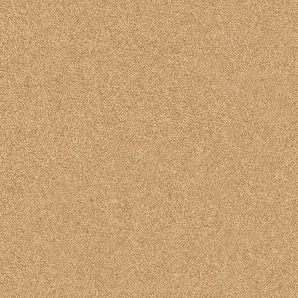 York Wallcoverings 56 sq. ft. Leather Wallpaper