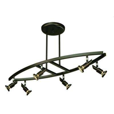 Buchwald 6-Light Oil-Rubbed Bronze Track Lighting Kit