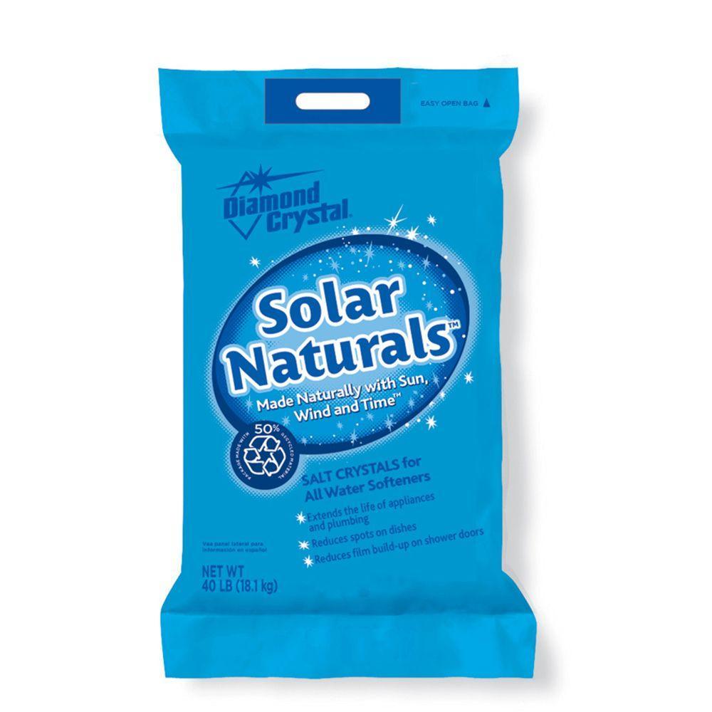Diamond Crystal Solar Salt 50 Lb Extra Coarse Water Softening Salt