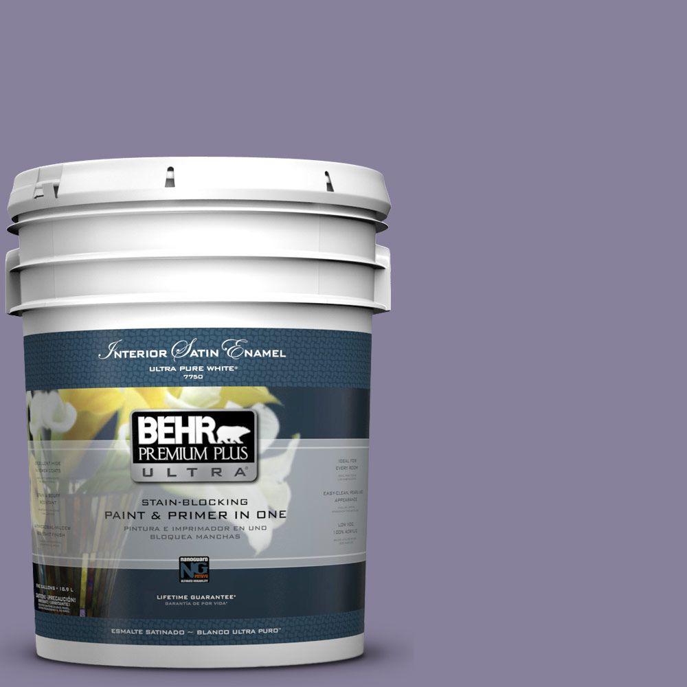 BEHR Premium Plus Ultra 5-gal. #S570-5 Live Jazz Satin Enamel Interior Paint