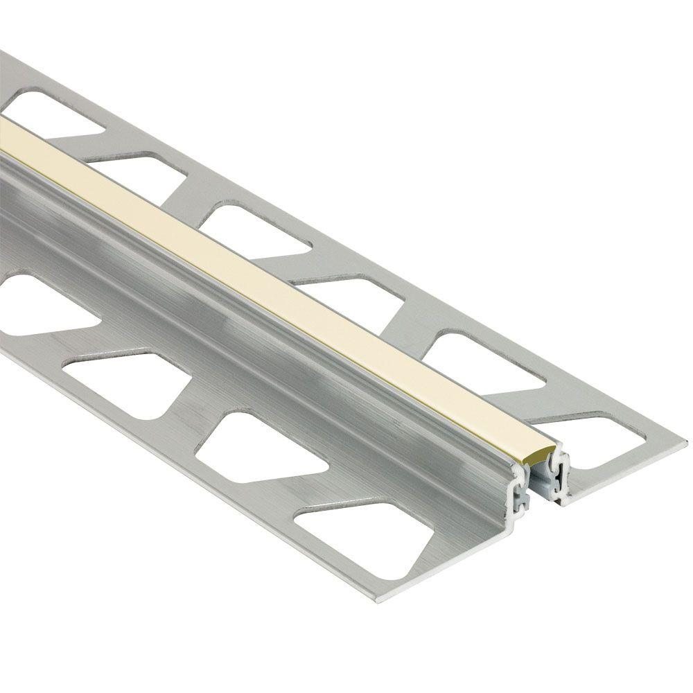 Dilex-AKWS Aluminum with Sand Pebble Insert 17/32 in. x 8 ft.