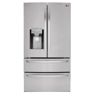 Click here to buy LG Electronics 27.8 cu. ft. French Door Refrigerator in Stainless Steel by LG Electronics.